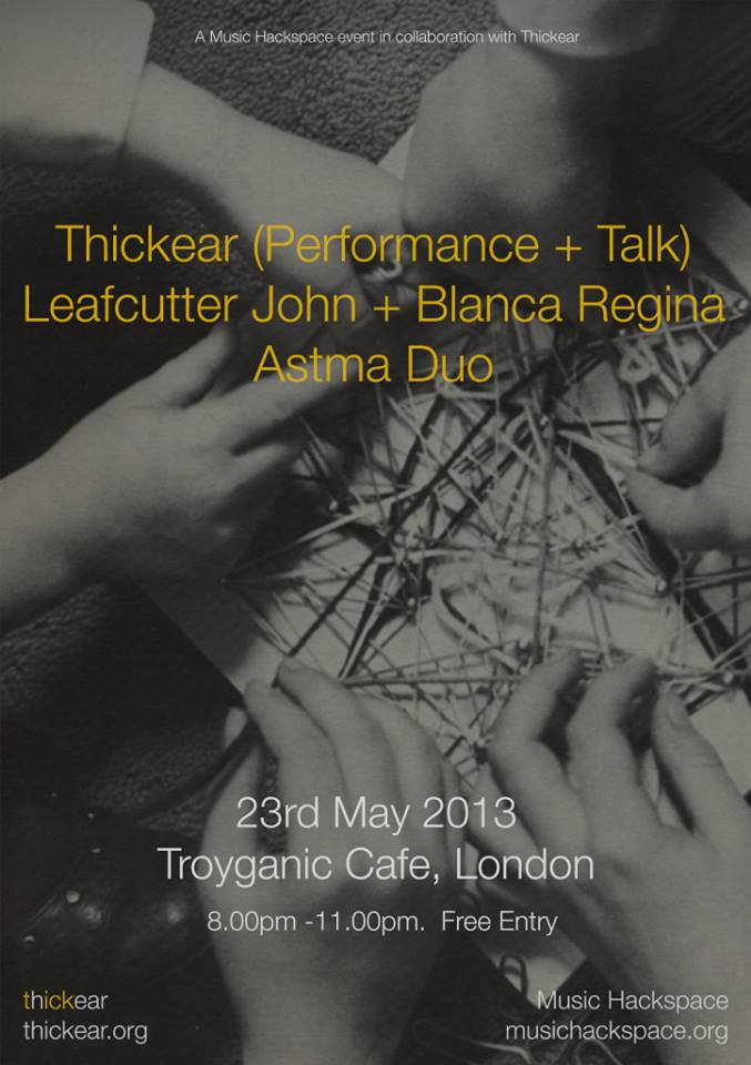 Troyganic Cafe London 2013