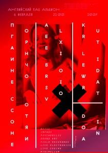 Концерт 06-02-2014 Английский паб Альбион